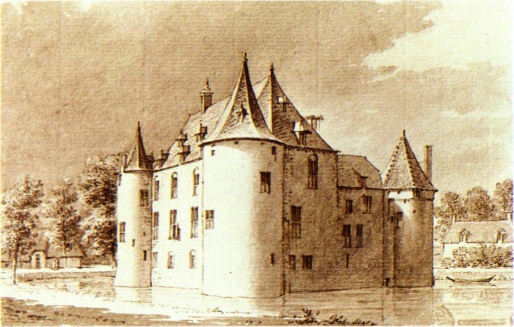 Gemeente-Maasdriel-Kasteel_Ammersoyen_circa_1730-C-Pronk-PD